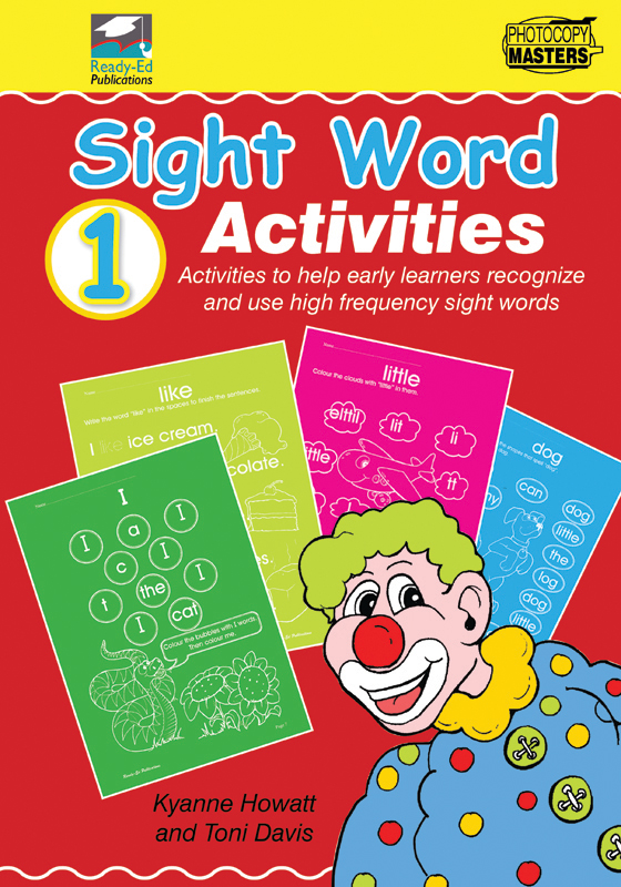 sight puzzles Activities Sight Word Book  word printable 1